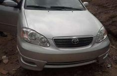 Well maintained grey 2007 Toyota Corolla for sale at price ₦600,000 in Uyo
