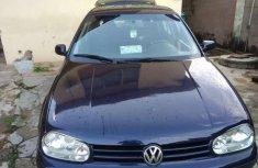 Best priced used 2001 Volkswagen Golf in Ibadan