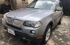Grey 2007 BMW X3 suv automatic for sale in Lagos