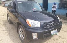 Clean black 2003 Toyota RAV4 car for sale at attractive price