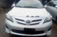 Selling grey 2013 Toyota Corolla in Lagos