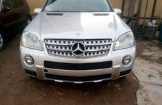 Clean and neat grey 2007 Mercedes-Benz ML hatchback at price ₦3,500,000 in Lagos
