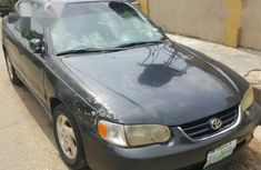 Grey 2002 Toyota Corolla automatic at mileage 152,223 for sale in Lagos