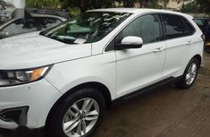 Well maintained white 2015 Ford Edge at mileage 26,000 for sale