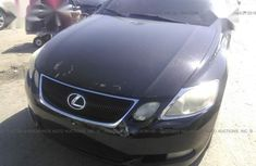 Black 2008 Lexus GS at mileage 90 for sale in Ibadan