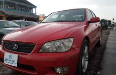 Used red 2002 Lexus IS automatic at mileage 134,784 for sale