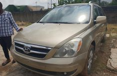 Sell gold 2007 Hyundai Entourage suv automatic at mileage 69