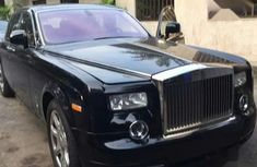 Sell cheap black 2010 Rolls-Royce Phantom at mileage 3,867 (origin: foreign)