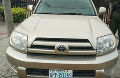 Need to sell high quality gold 2006 Toyota 4-Runner automatic