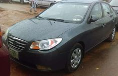 Sell cheap grey 2007 Hyundai Elantra automatic