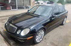 Mercedes-Benz E350 2008 Black for sale