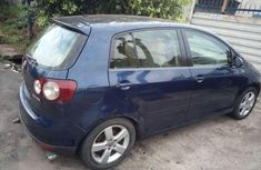 Authentic blue 2005 Volkswagen Golf manual in good condition