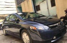 Black 2008 Honda Civic for sale at price ₦550,000 in Lagos