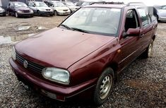 Need to sell high quality red 1996 Volkswagen Golf at price ₦385,000 in Ikeja