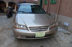 Need to sell high quality 2001 Honda Accord at price ₦450,000 in Lagos