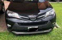 Sell used black 2014 Toyota RAV4 suv automatic in Lagos