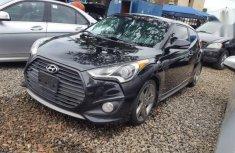Black 2014 Hyundai Veloster car automatic at attractive price in Abuja