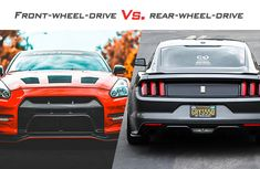 What is the difference between front wheel drive and rear wheel drive?