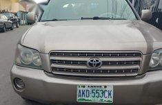 Toyota Highlander 2002 Brown for sale