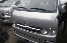 Need to sell cheap used grey 2012 Toyota HiAce van automatic