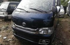 Well maintained blue 2012 Toyota HiAce automatic for sale at price ₦5,000,000