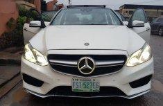 Mercedes-Benz E63 2011 White for sale