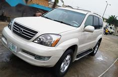 Sell well kept grey/silver 2005 Lexus GX automatic at price ₦2,950,000