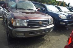 Toyota Land Cruiser 2002 Brown for sale