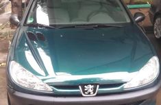 Peugeot 206 2004 Green for sale