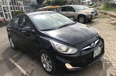 Hyundai Accent 2014 Black for sale