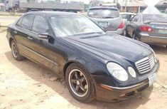 Certified black 2004 Mercedes-Benz E320 automatic in good condition