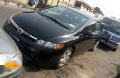 Black 2008 Honda Civic for sale at price ₦1,650,000 in Ikeja