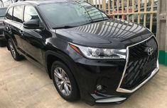 2018 Toyota Highlander Black for sale