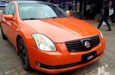 Nissan Maxima 2004 Orange for sale