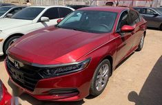 Honda Accord 2018 Red for sale