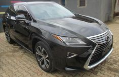 Used black 2016 Lexus RX for sale at price ₦19,500,000 in Lagos