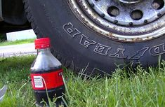 How to remove car rust with Coca-Cola