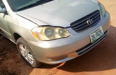 Toyota Corolla 2004 LE Silver for sale