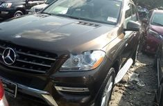 2014 Brown Mercedes-Benz ML350 for sale