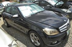 Sell black 2008 Mercedes-Benz C280 sedan automatic at cheap price