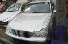 Mercedes-Benz C180 2002 Silver for sale