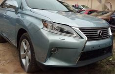 Need to sell high quality green 2011 Lexus RX automatic in Lagos