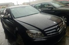 Mercedes-Benz C300 2009 Black for sale