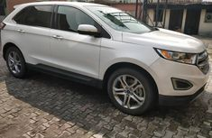 2015 Ford Edge Titanium White for sale
