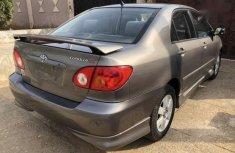 Sell used 2002 Toyota Corolla sedan automatic at price ₦615,000