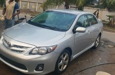 Grey/silver 2011 Toyota Corolla for sale at price ₦2,650,000