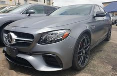New Mercedes-Benz E63 2019 Gray color for sale