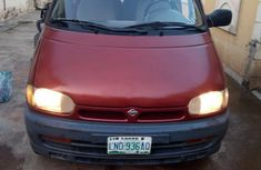 Well maintained brown 2000 Nissan Serena manual for sale in Ikeja