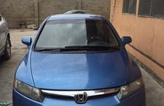 Sell used blue 2006 Honda Civic sedan at cheap price