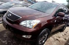 Sell used brown 2008 Lexus RX suv  automatic in Lagos